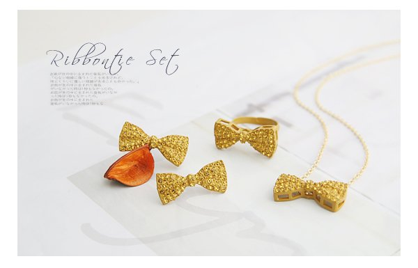 free shipping new rings ring jewellery gold jewelry ring ZH208# super cute set full bowknot openings ring gold & silver 2 colors