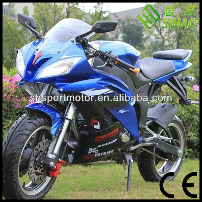 150cc Matte Black Racing Pocket bike Motorcycle CE