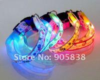 Ошейники и Поводки для собак New Product! The Colorful flollipops Series LED Dog Collar TZ-PET3600 Flashing Dog Collar.MOQ 5 Pcs