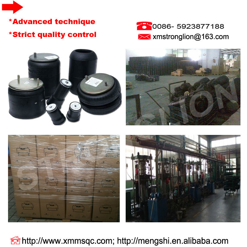 Promotional wholesale air suspension for Scania air spring 1903608