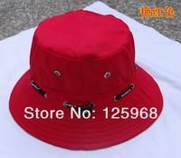 на 1шт! к 2015 году новых моды весны и лета ведро шляпы пляж солнце Кап рыбалка шляпы 24 цветов для выбора