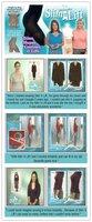 Женское термо-белье 100pcs/lot New Slim N Lift Supreme Shape Slimming M As Seen On TV