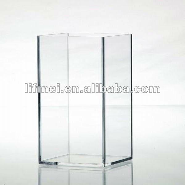 plexiglas vase carr vases en verre cristal id de produit 580236290. Black Bedroom Furniture Sets. Home Design Ideas