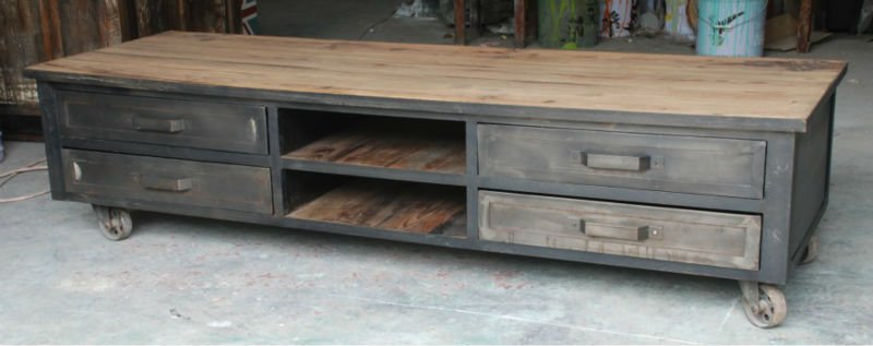 Cool TV cabinet idea · Basement FurniturePlasma ...