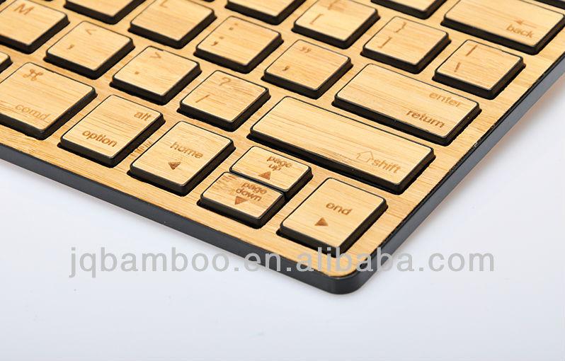 Бамбук клавиатура Bluetooth