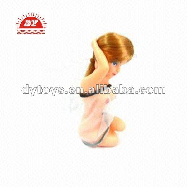3d plástico sexo menina dos desenhos animados brinquedos para as crianças