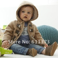 Изделие из шерсти для мальчиков DZ-527, baby thick cotton outerwear boys fashion khaki/gray coat winter children warm jacket price