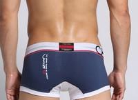 Мужские боксеры jacquard letters CROOTA blue-gray with Australian men's underwear underwear men's boxer underwear