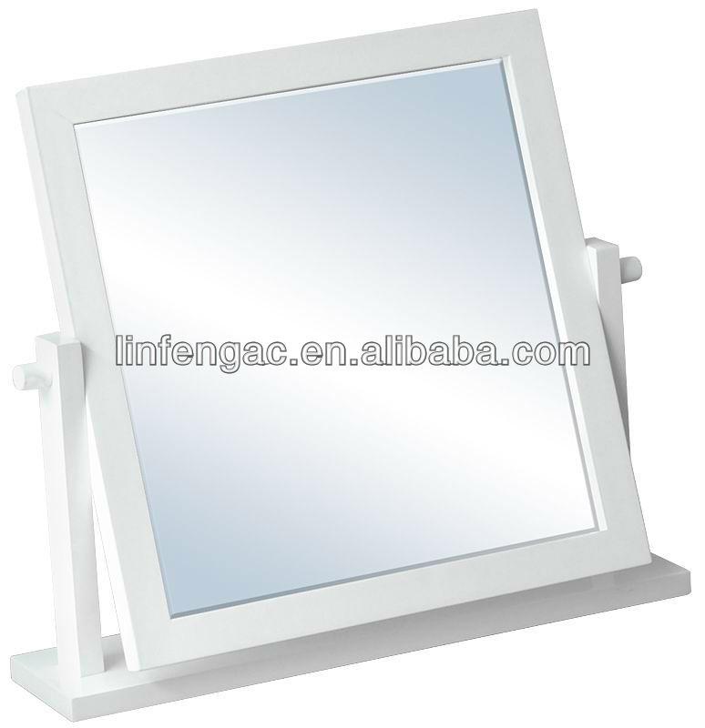 mdf blanco barato tocador moderno espejos para decoracin del hogar