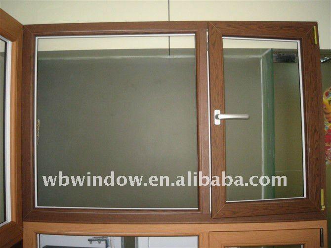 Siyah pvc pencere