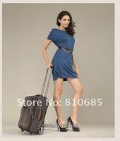 Дорожная сумка на колесиках Men and Women ABS lovely pole box luggage suitcase 1pcs hg