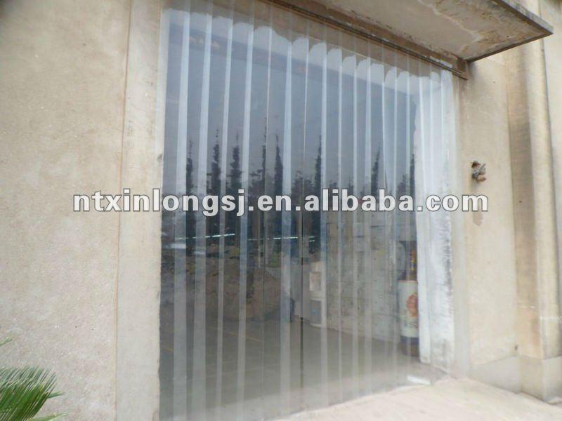 Clear pvc curtain pvc strip buy pvc curtain pvc door - Rideau plastique transparent ...