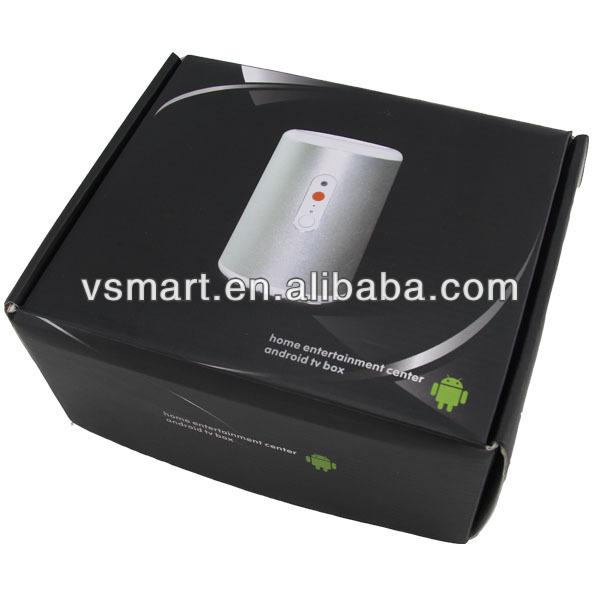 quad core rk3188 tv box 1.8 GHz 2GB RAM 8GB Flash with IR remote control support 2.4GHz mini keyboard