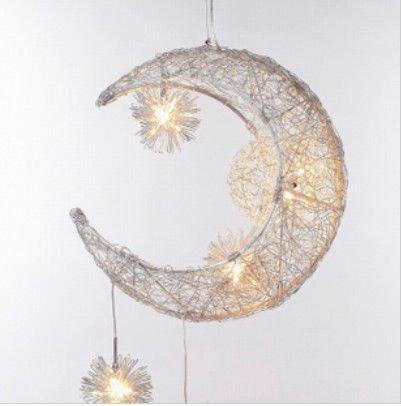 bedroom children 39 s room moon stars modern pendant