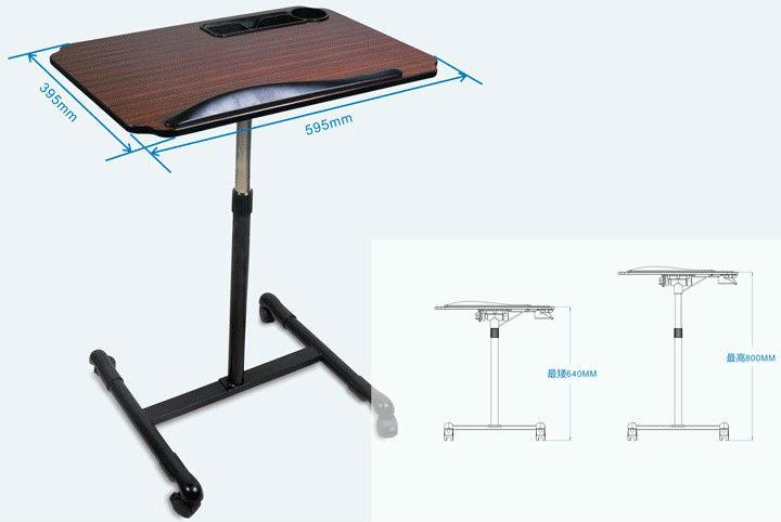 rotation r glable table d 39 ordinateur portable bureaux d 39 ordinateur id de produit 627556373. Black Bedroom Furniture Sets. Home Design Ideas