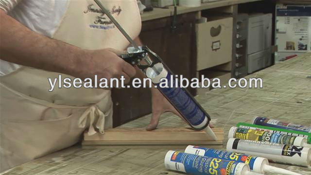 Kingfix S803 Acetic liquid silicone sealant pouring sealant