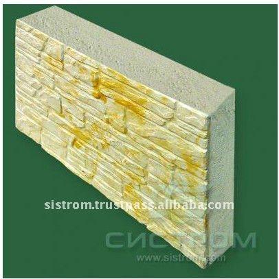 Light Weight Fire Resistance Textured Foam Concrete Blocks