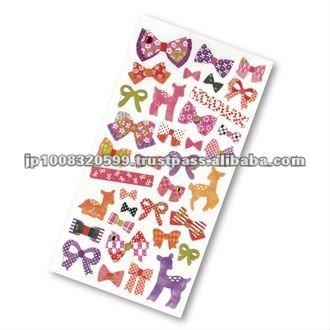 Petit Poche Sticker Deer _ deer _ sticker paper _ paper craft _ handmade _ most popular products