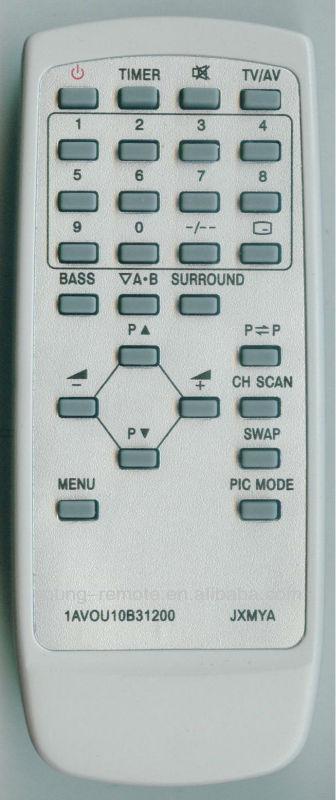 SANYO 1AVOU1OB 31200 JXMYA UNIVERSAL TV REMOTE CONTROL