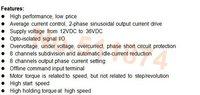 Шаговый двигатель Wantai Motor ! Wantai Nema 17 42BYGHW602 35oz/40 0.4A CE ISO CNC Cut