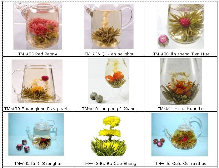 high quality blooming tea