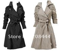 Топ качества пальто, военные единый стиль, двубортные пальто fr067