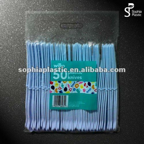 disposable PS transparent plastic spoon