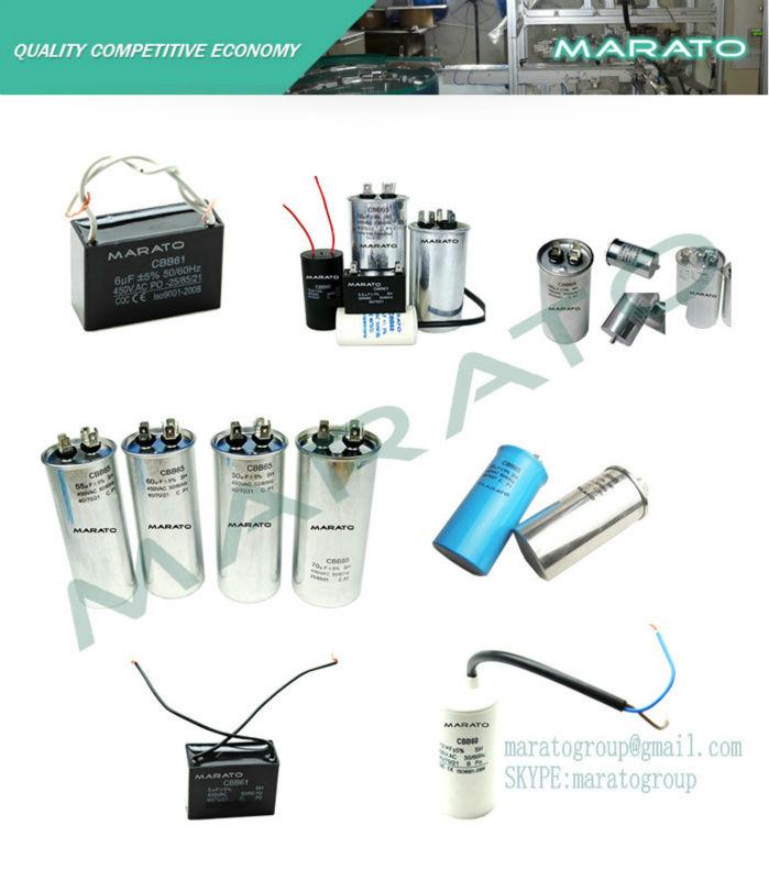 Popular portable cbb60 8uf motor run capacitor