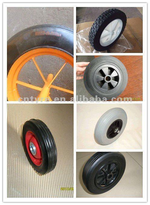 "13""*3"" solid wheel"