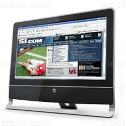 18.5 inch touch all in one led pc desktop computer