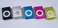 MINI Clip MP3 Player Support 4GB 2GB Micro TF card with USB cable/earphone/retail box+Free shipping