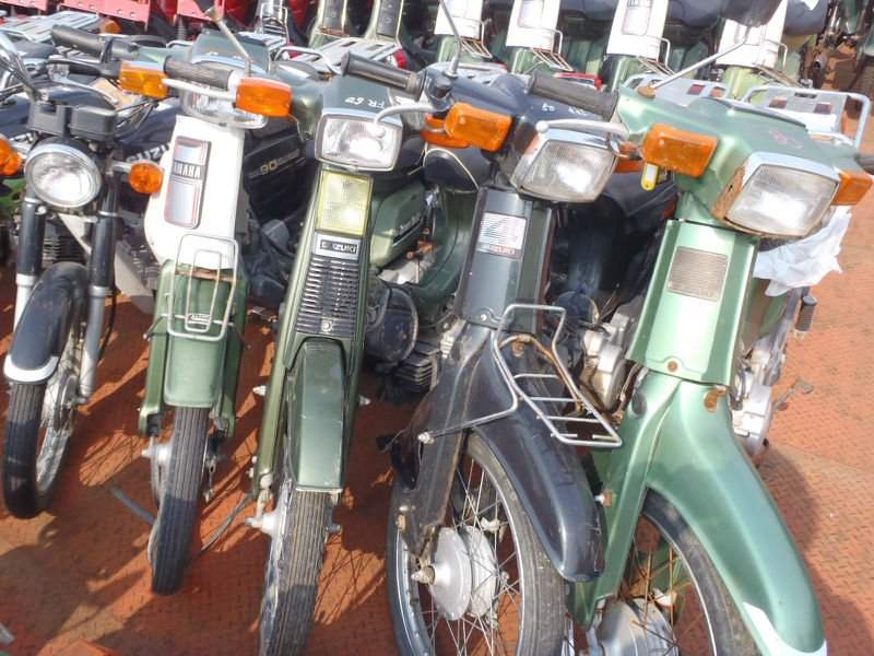 Used YAMAHA MOTORCYCLES for sale 50cc~125cc