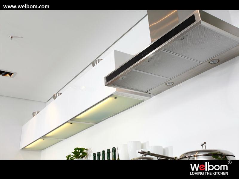 moderne keuken kast hoek planken-keuken kasten-product-ID ...
