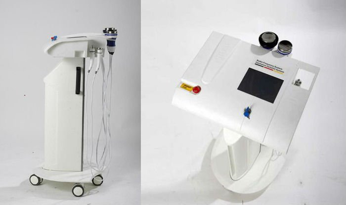 Stand Multi-function Cavitation+RF fat loss equipment for spa salon use
