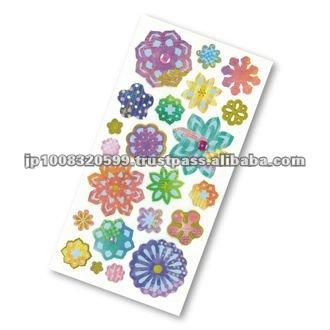 Petit Poche Sticker Paper cut _ paper cutting _ sitcker printing _ stationery item _ handmade _ japanese sticker