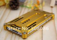 Чехол для для мобильных телефонов Durable Aluminium Metal Cover Case for iphone 4 4S Transform Edition