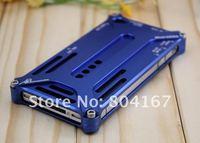 Чехол для для мобильных телефонов Classic super metal aluminum case for iphone 4 4s, For iphone 4s detachable aluminum cover with retail package