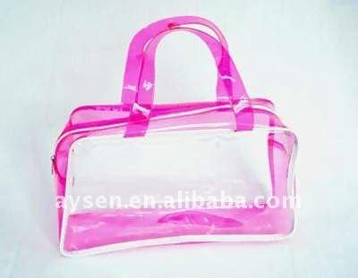 Pvc de alta qualidade sacos de mão