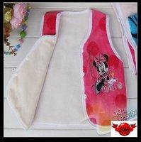 In stock Mixed 10pcs/lot 6~18M baby Vest Jacket Baby clothing Wholesale Cartton clothing
