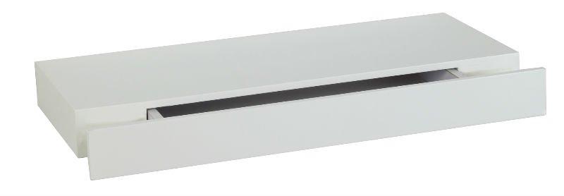 Bois flottante tag re avec tiroir etag res de - Tablette murale avec tiroir ...