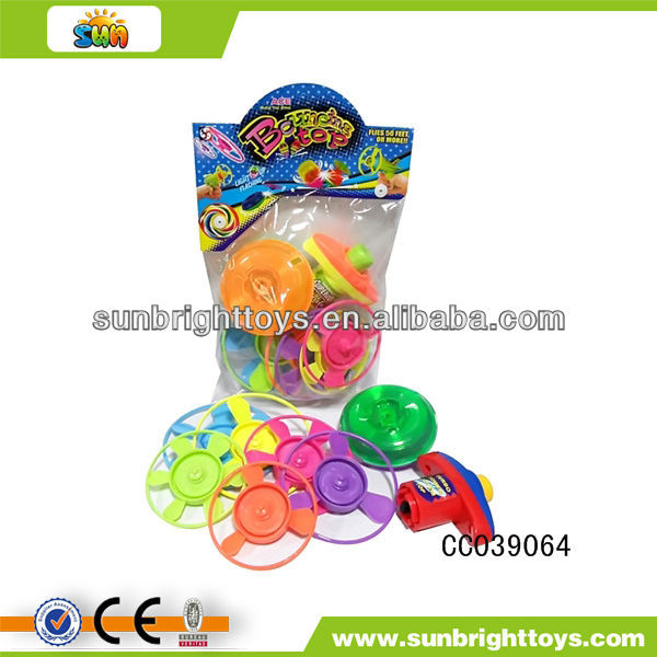 Promotional toy spinning tops