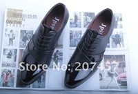 2013 new size 38-43 Men's Shoes.Fashion black/white man Shoes.color matching Casual Man's Flats.drop shipping B1058