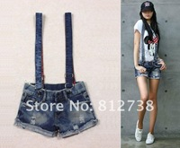 Женский джинсовый комбинезон 2012 Hotsale Summer Women Short Jeans, Pants Jumpsuit Women, Female Bib, Women Overalls Jeans