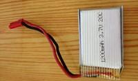 Запчасти и Аксессуары для радиоуправляемых игрушек 3pcs/lot E-FLY 3.7V 1200mAh 20C Lipo Rechargeable Battery For RC Helicopter