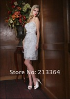 Свадебное платье import Lace elegance nobleness temperament Top grade Wedding Dresses any size/color /retail