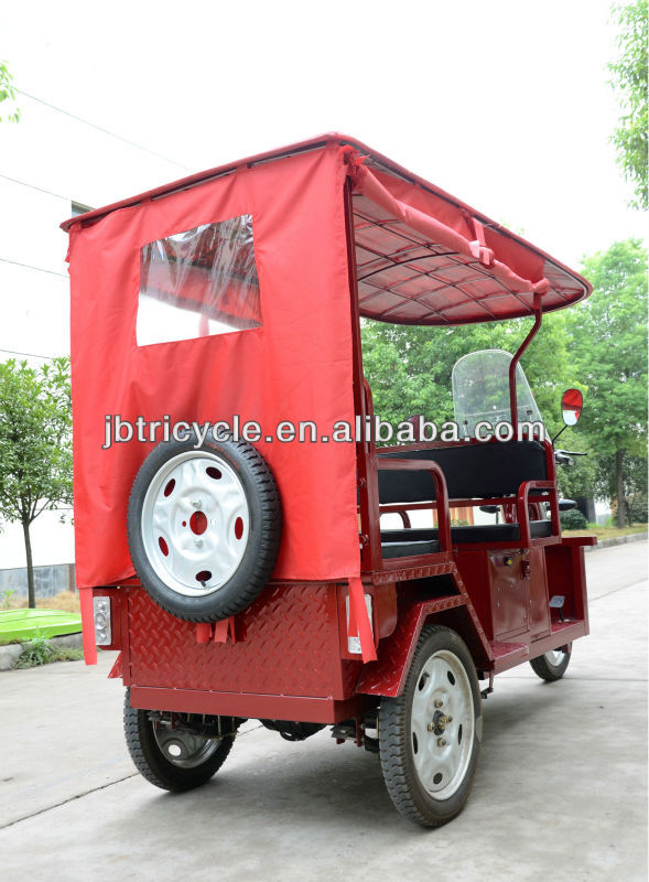 fiber roof 1000w 60-120ah 48-60v Indian battery rickshaw