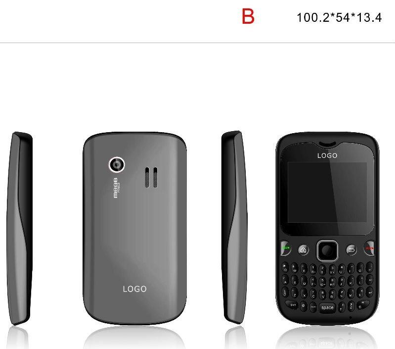 2011 Qwerty Dual Sim Mini phone S600