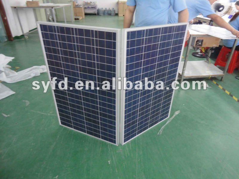 80W/100W/120W/150W foldable/folding solar panel