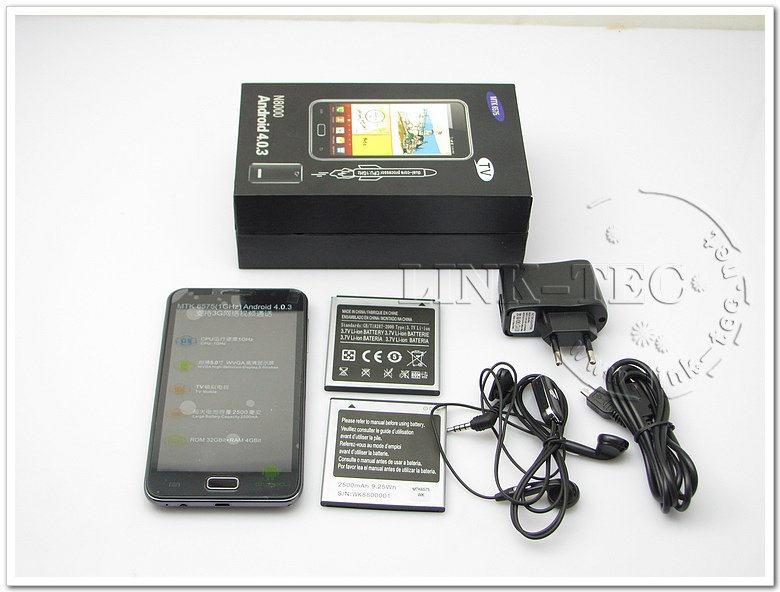 Free shipping Star mobile Star N8000 (i9220 TV) 5.0 inch capacitive screen MTK6575 GPS WIFI TV android 4.0 mobile phone
