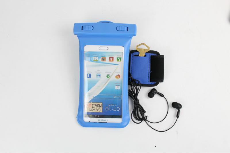 Wholesale waterproof for iphone bag with earphone